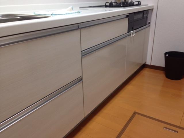 パナソニック食洗機 スライドオープン食洗機新設 NP-45MD7S②