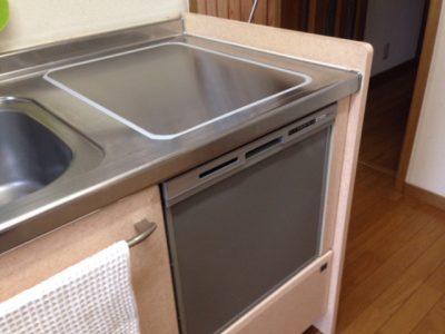 東芝食洗機 トップオープン食洗機取替え DW-B45CT2①