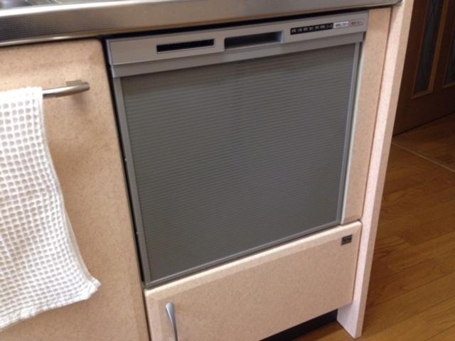 東芝食洗機 トップオープン食洗機取替え DW-B45CT2②