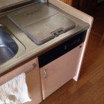 東芝食洗機 トップオープン食洗機取替え DW-B45CT2③