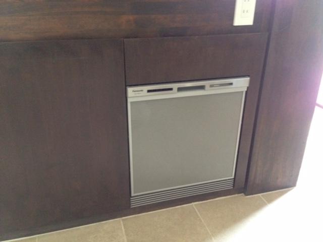 パナソニック食洗機 スライドオープン食洗機新設 NP-45MS7S②