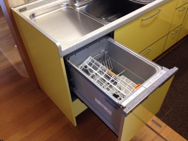 三菱電機食洗機 トップオープン食洗機取替え MISW-4521⑤
