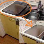 EW-CB57MK食洗機 スライドオープン食洗機交換 NP-45MS7W⑥