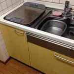 EW-CB57MK食洗機 スライドオープン食洗機交換 NP-45MS7W①