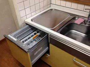 EW-CB57MK食洗機 スライドオープン食洗機交換 NP-45MS7W⑤