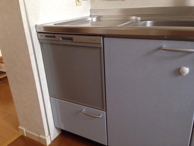 EW-CB57MK食洗機 スライドオープン食洗機交換 RKW-404A-SV③