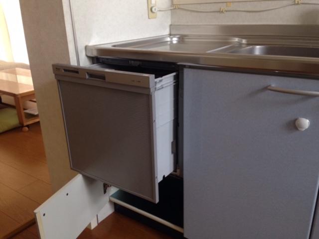 EW-CB57MK食洗機 スライドオープン食洗機交換 RKW-404A-SV④