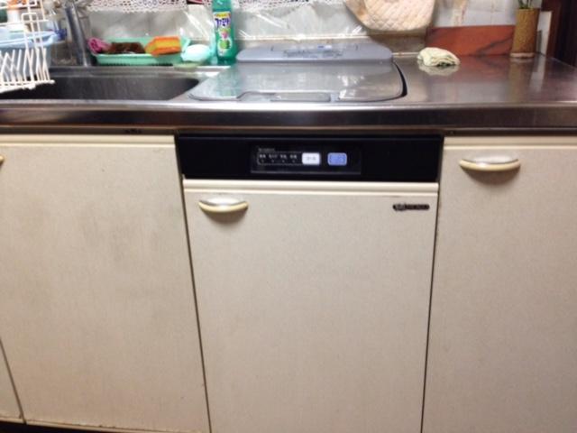 EW-CB58MK食洗機 スライドオープン食洗機交換 RKW-404A-SV②