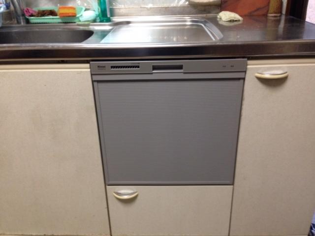 EW-CB58MK食洗機 スライドオープン食洗機交換 RKW-404A-SV③