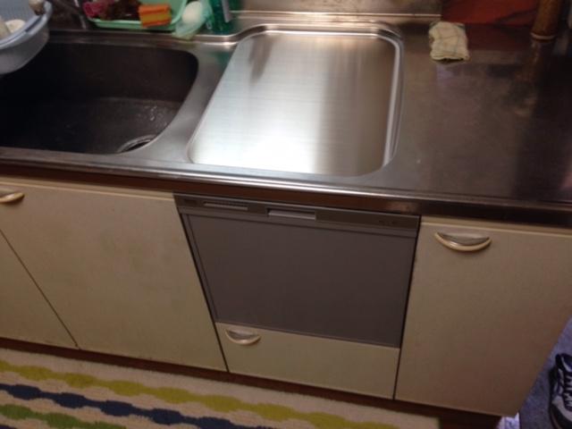 EW-CB58MK食洗機 スライドオープン食洗機交換 RKW-404A-SV④