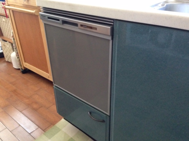 パナソニック食洗機 スライドミドル食洗機新設 NP-45MS7S④
