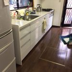 パナソニック食洗機 スライドオープン食洗機新設 NP-45MS7S①