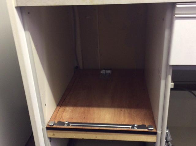 パナソニック食洗機 スライドオープン食洗機新設 NP-45MS7S⑥