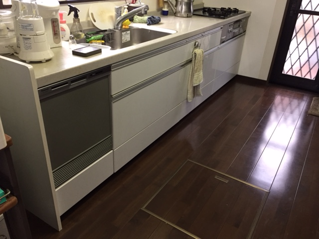 パナソニック食洗機 スライドオープン食洗機新設 NP-45MS7S⑩