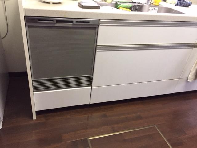 パナソニック食洗機 スライドオープン食洗機新設 NP-45MS7S⑫