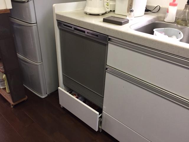 パナソニック食洗機 スライドオープン食洗機新設 NP-45MS7S⑬