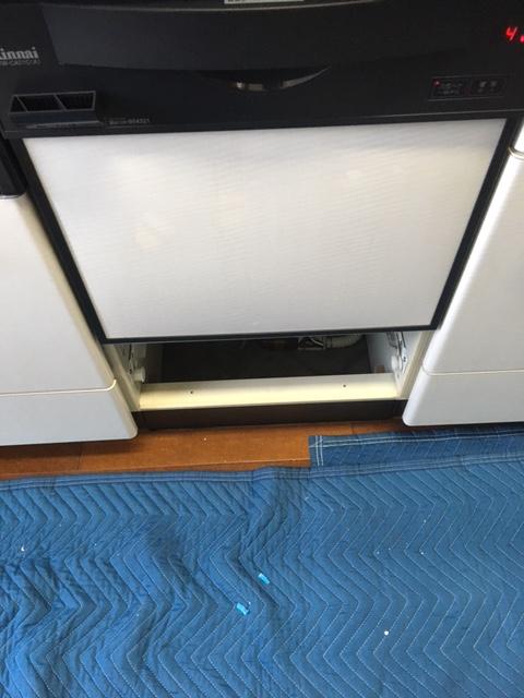 激安リンナイ食洗機 スライドミドル食洗機交換 RKW-C401C-JAK④