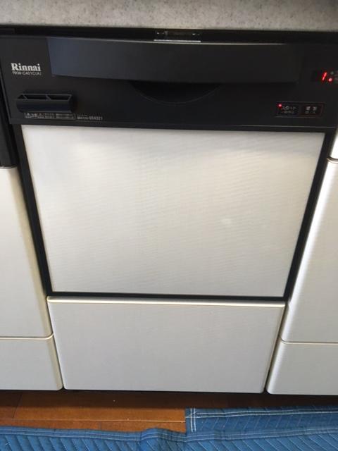 激安リンナイ食洗機 スライドミドル食洗機交換 RKW-C401C-JAK⑥