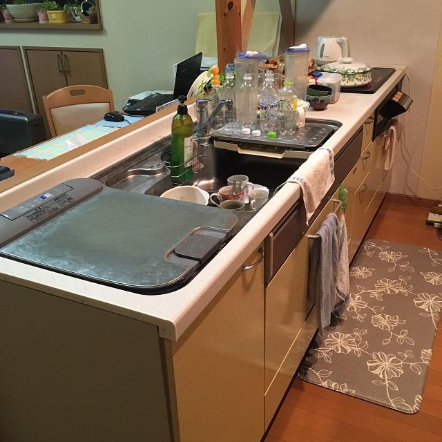 激安パナソニック食洗機 上ふた食洗機交換 NP-45MD7W⑦