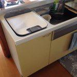 激安パナソニック食洗機 上ふた食洗機交換 NP-45MD7W④