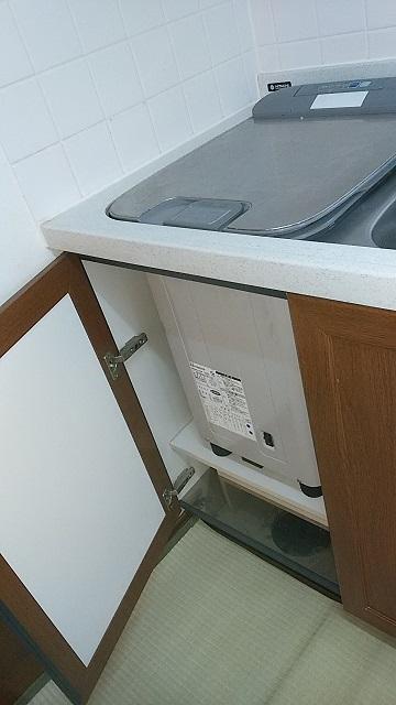 EW-CB57-PF トップオープン食洗機撤去⑥