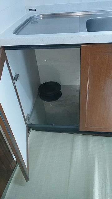 TDW-300BP トップオープン食洗機撤去①