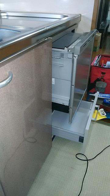 激安パナソニック食洗機 OEM スライド食洗機入替 NP-45RS7JGK③