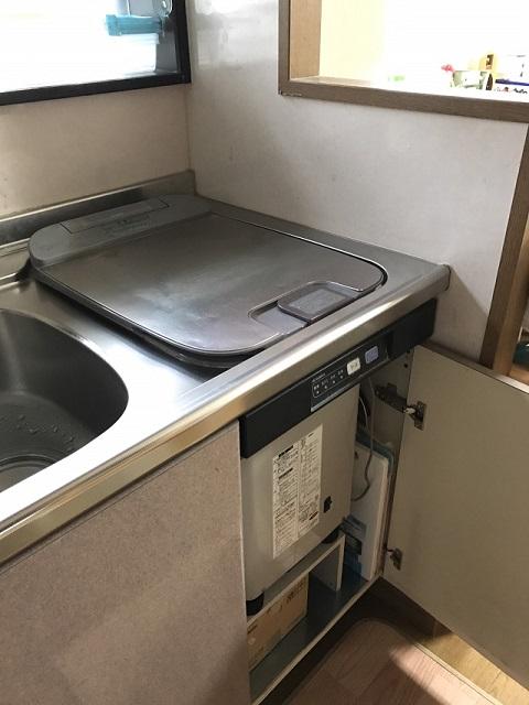 激安パナソニック食洗機 OEM スライド食洗機入替 NP-45RS7JGK⑥