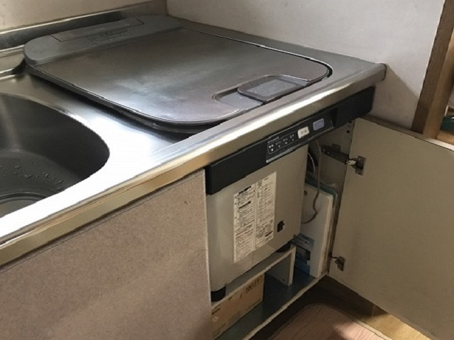 激安パナソニック食洗機 OEM スライド食洗機入替 NP-45RS7JGK⑦