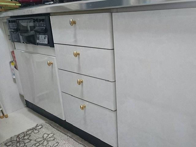激安パナソニック食洗機 新設食洗機交換 NP-45MS7S③