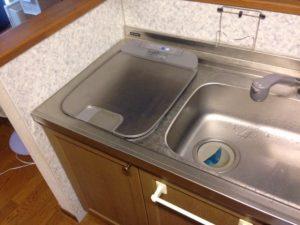 トップオープン 深型食洗機 取替え交換工事