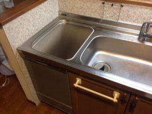 上フタ式食洗機 ディープタイプ取替え交換工事