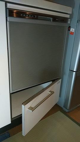 激安パナソニック食洗機 トップ食洗機交換 NP-45MS7S③