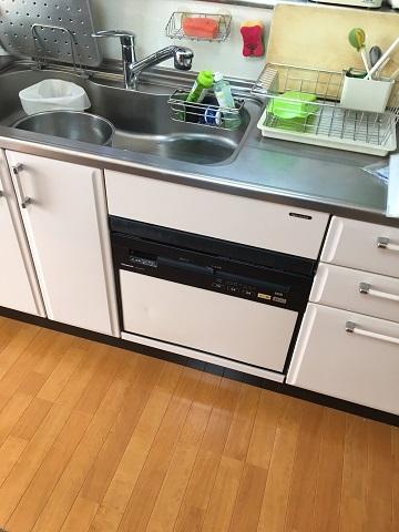 パナソニック製食洗機 NP-P60V1PKPK スライド食洗機 TDWP-60②