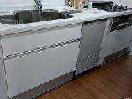 ハウステックキッチン 食洗機後付け事例