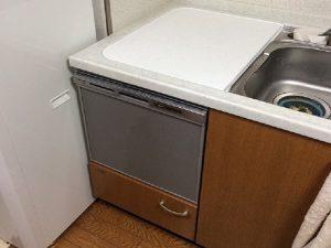 ヤマハキッチン トップオープン食洗機交換 EW-CB54YH パナソニック製 NP-45MS8S①