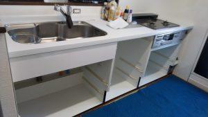 リンナイ製食洗機 ハウステック RSW-F402C-SV①