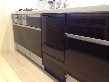 リンナイ食洗機 フロントオープン RSW-F402C-B①