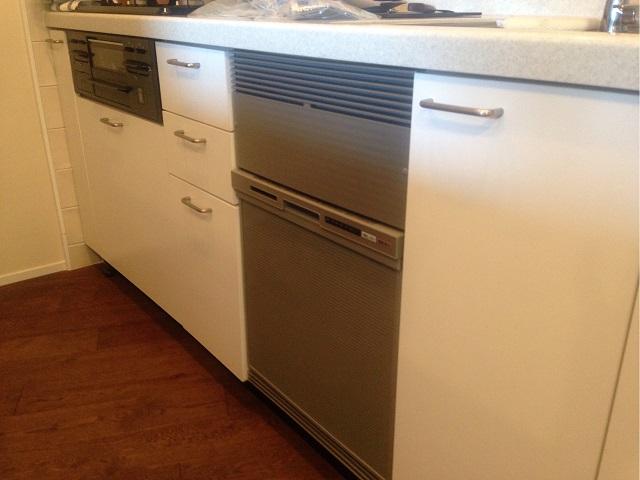 LIXIL パナソニック食洗機 NP-45RS7SJGK① 新設食洗機,ビルトイン食洗機,食器洗い乾燥機設置,新規取り付け,キッチンリフォーム,後からビルトイン