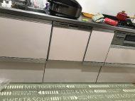 クリナップキッチン 食洗機後付け事例