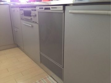 新設食洗機 トーヨーキッチン NP-45VD7S①