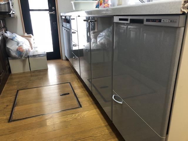 ミカドキッチン,三菱,トップオープン,NP-45RS7WJGK①