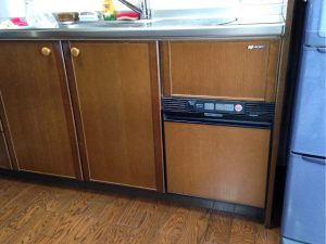 ミカドキッチン,乾燥機,KFD-452SK,RKW-C402C-JGK,リンナイ食洗機①