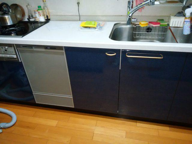 スライド食洗機,新設,NP-45MD8S,ディープ③