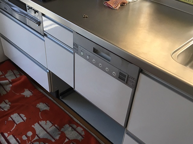 ナショナル EUF100SV LIXIL パナソニック食洗機 NP-45RS7SJGK①