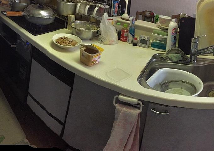 サンウェーブキッチン,NP-45ASP1SW,フロントオープン,NP-45MD8S⑧