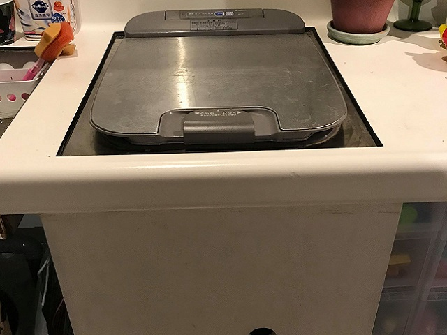 EW-CB55P 三菱製トップオープン食洗機 RKW-404A-SV②