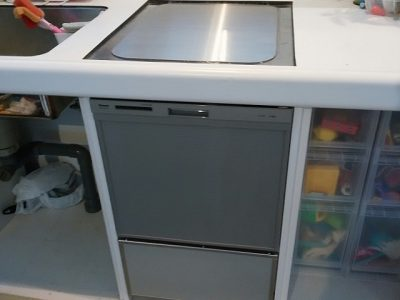 EW-CB55P 三菱製トップオープン食洗機 RKW-404A-SV①