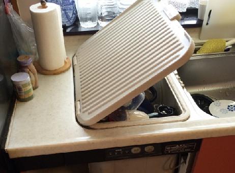ヤマハトップオープン食洗器 取替え交換工事