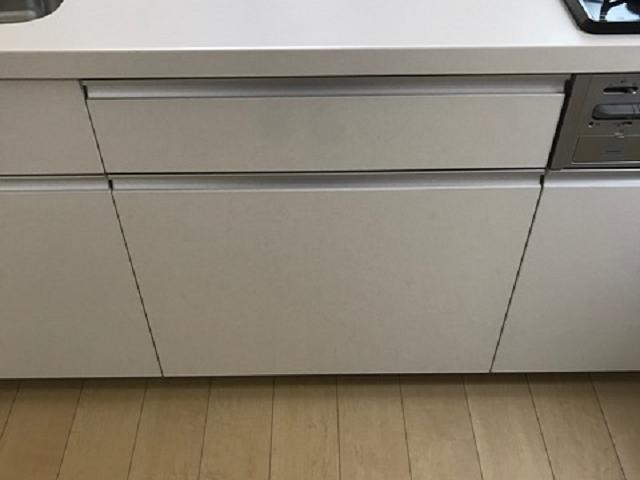 リクシルシステムキッチン パナソニックスライド食洗機NP-45MD8S